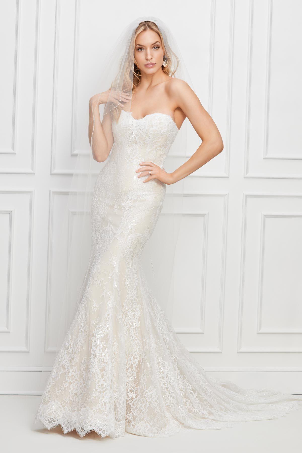 Maribel by WTOO Wedding dress long sleeve, Long sleeve