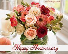 Happy Anniversary Flowers Birthday Happy Anniversary Quotes
