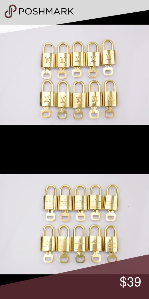 b0b4475033e5 Authentic Louis Vuitton lock and key set Will fit any Louis Vuitton bag or  luggage .100% authentic.one lock and key per order Louis Vuitton Accessories