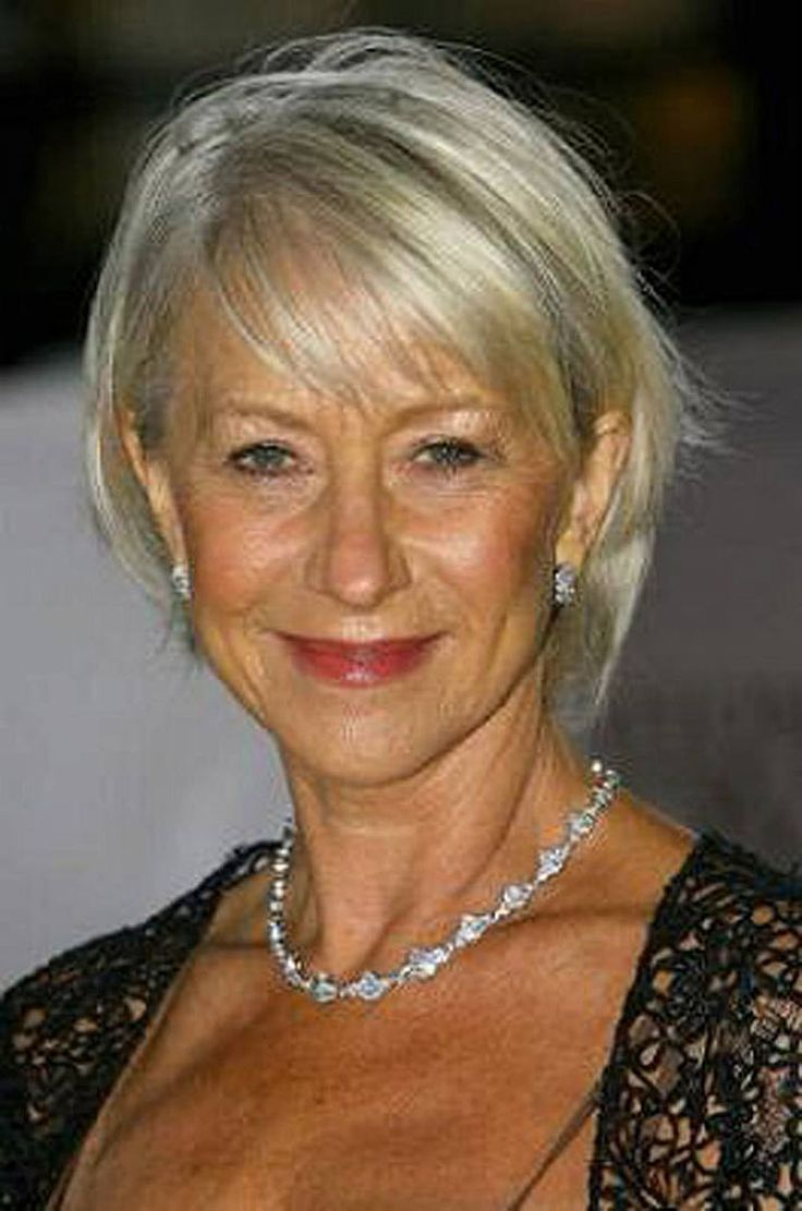 Old Lady Hairstyles Short Haircuts For Fine Thin Hair Over 50 Years Old #women