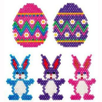 Hama Bead Easter Decorations Craft Ideas Inspirational