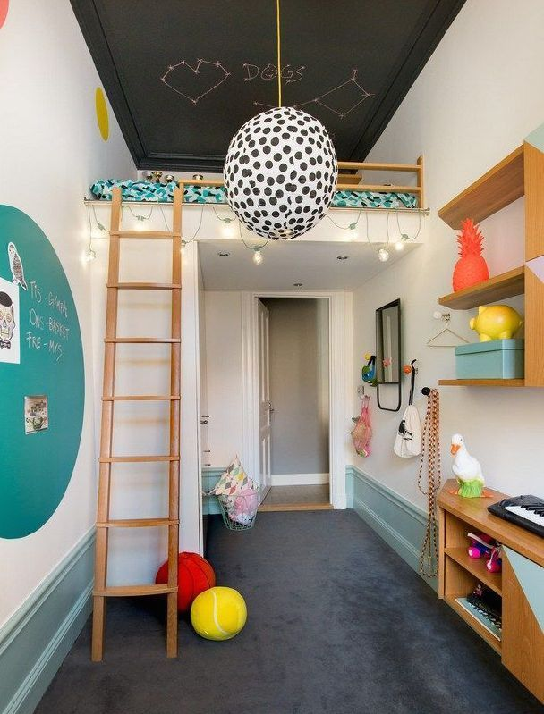 LOFT BEDS | Kids Room Designs | Pinterest | Room, Bedroom and Kids ...