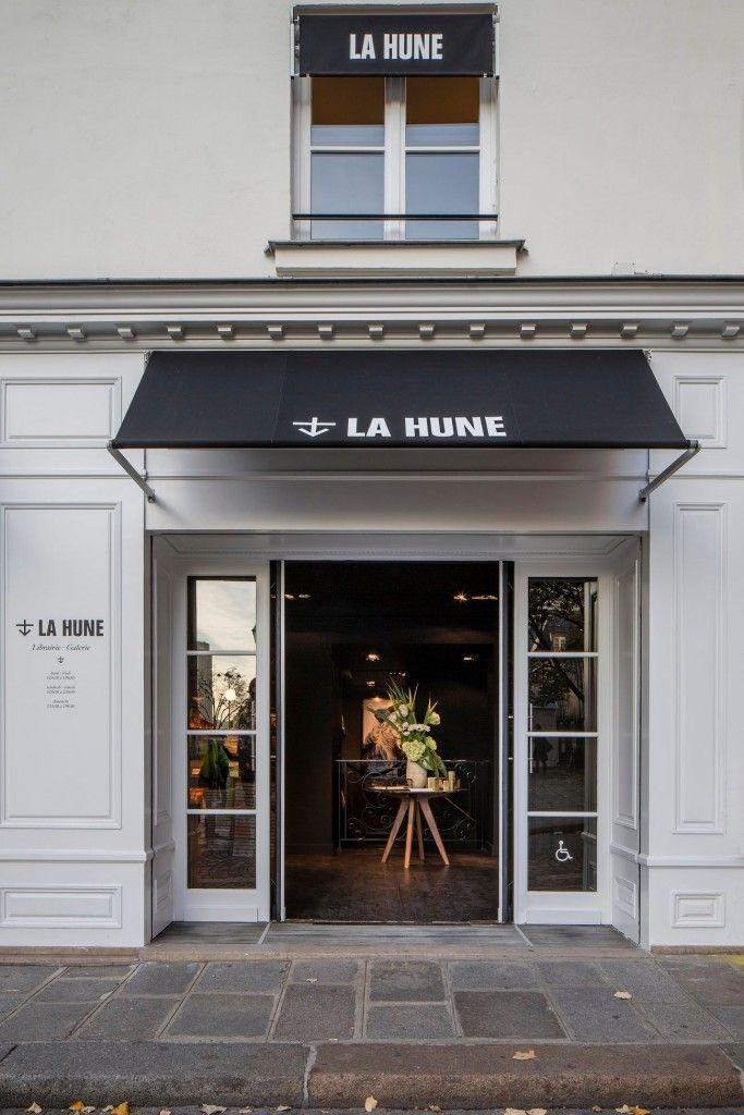La Hune Ou Le Concept De Librairie Galerie Design De Cafe Facade Boutique Facades De Magasins