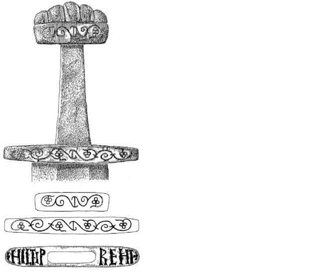 drawing Ballinderry Sword Sword