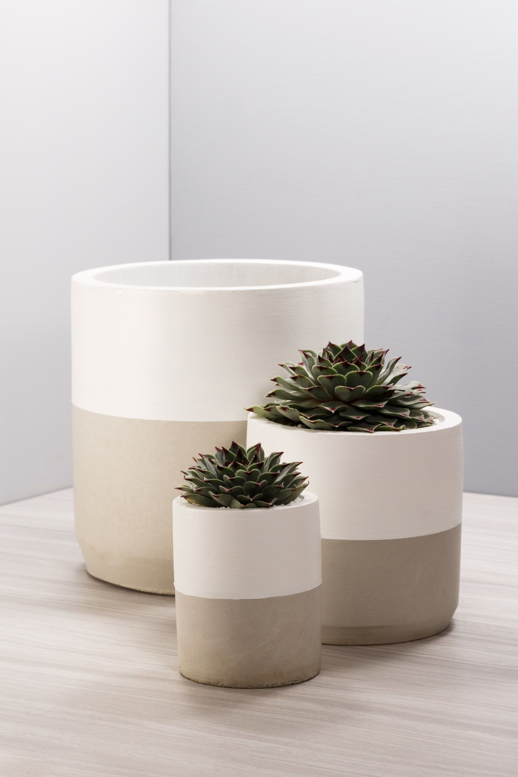 Concrete Succulent Planter Indoorplanter Concreteplanter Cement Modern Unique Artesanato De Vaso Planta De Decoracao Interior Decoracao Da Casa Artesanal