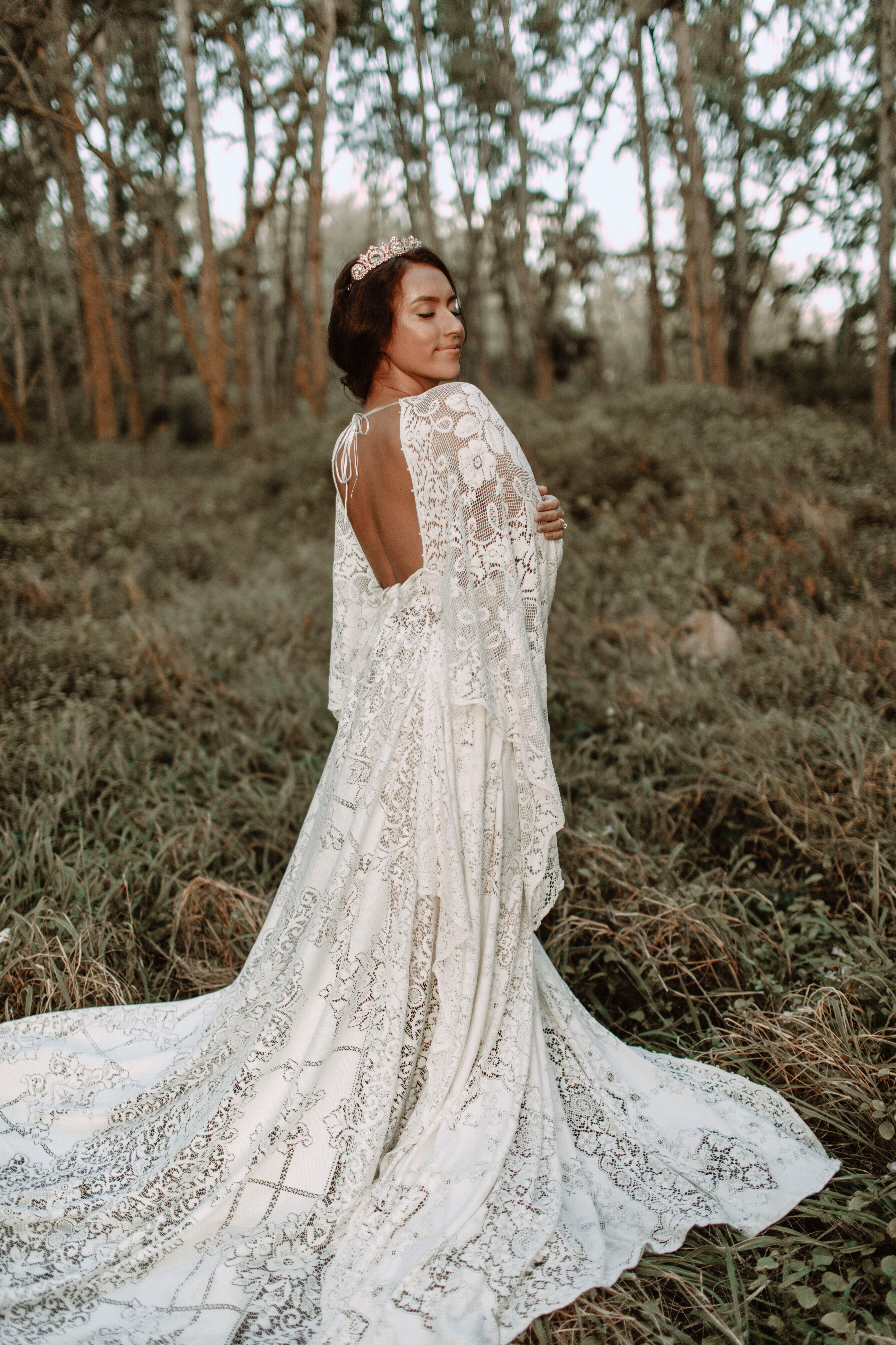 Reclamation Dress Luxury Destination Wedding Photography