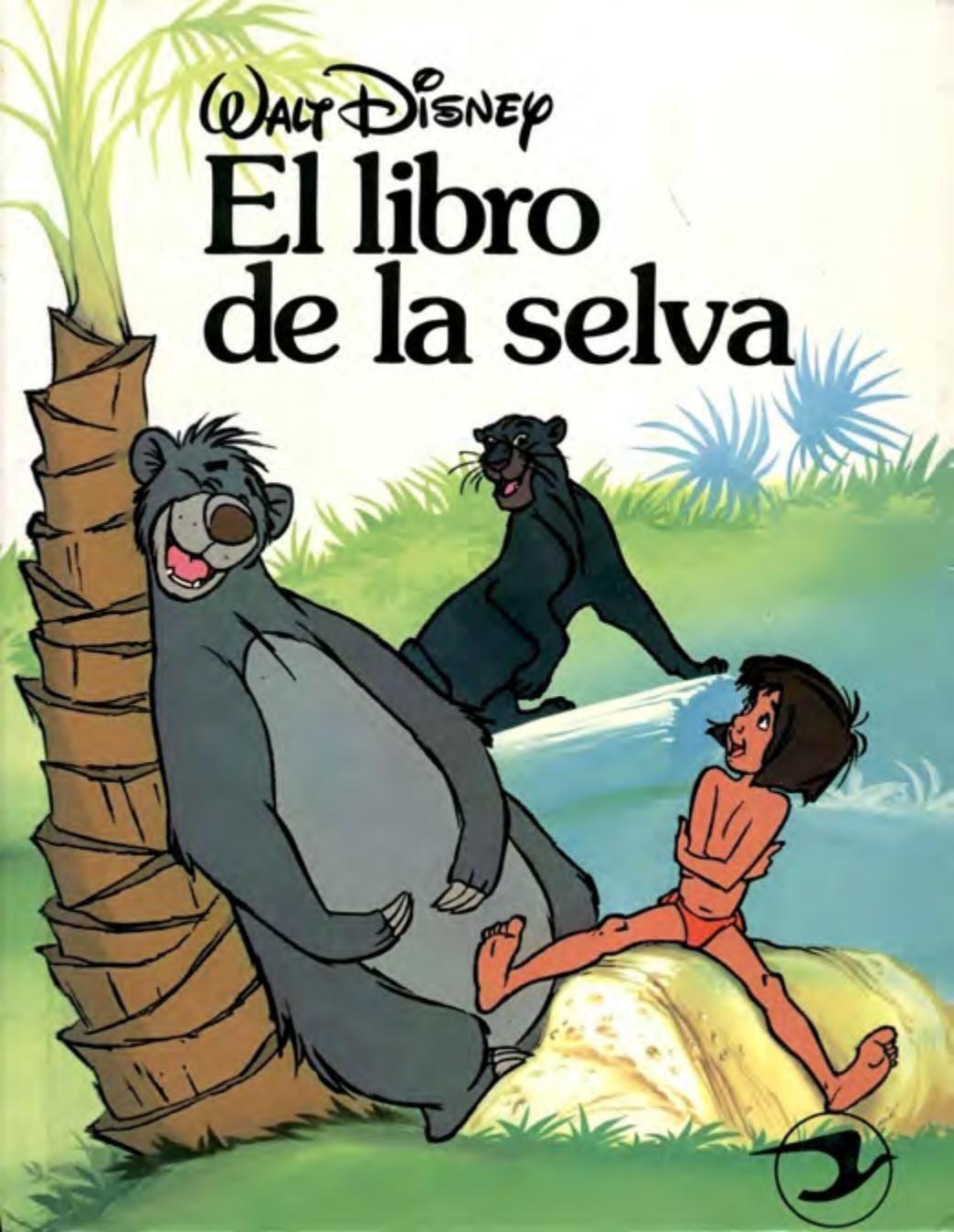 El Libro De La Selva Comic Book Cover Movies Books