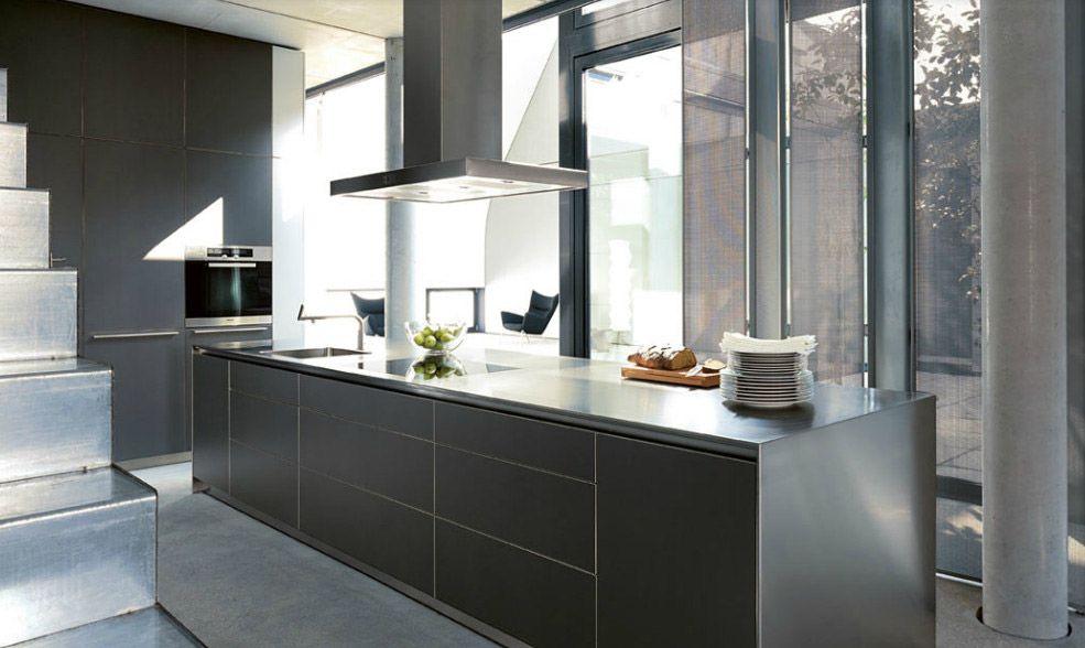 Modular kitchens kitchen bulthaup b3 b by bulthaup kitchens pinterest for Bulthaup cuisine