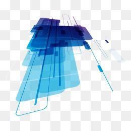 الخطوط الهندسية المجردة للعلوم والتكنولوجيا العلوم والتكنولوجيا نبذة مختصرة علم الهندسة Png وملف Psd للتحميل مجانا Blue Abstract Geometric Lines Geometric