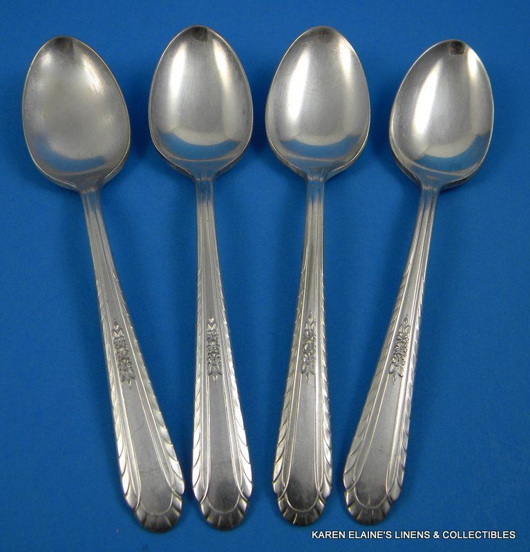 """8 1//2/"""" RATTAIL Pattern BUTLER EPNS Silver Plate Serving Spoon // Spoons"""