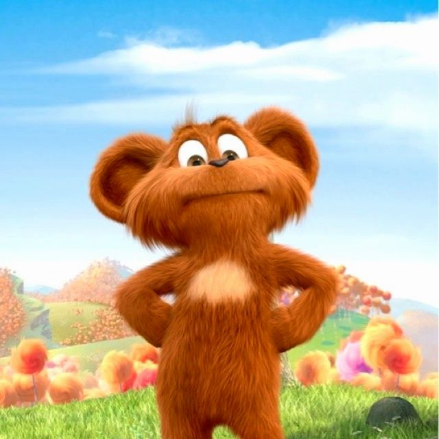 It S Pipsqueak From Dr Seuss S The Lorax The Lorax Cute Cartoon Characters Lorax Birthday