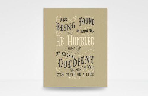 He Humbled Himself
