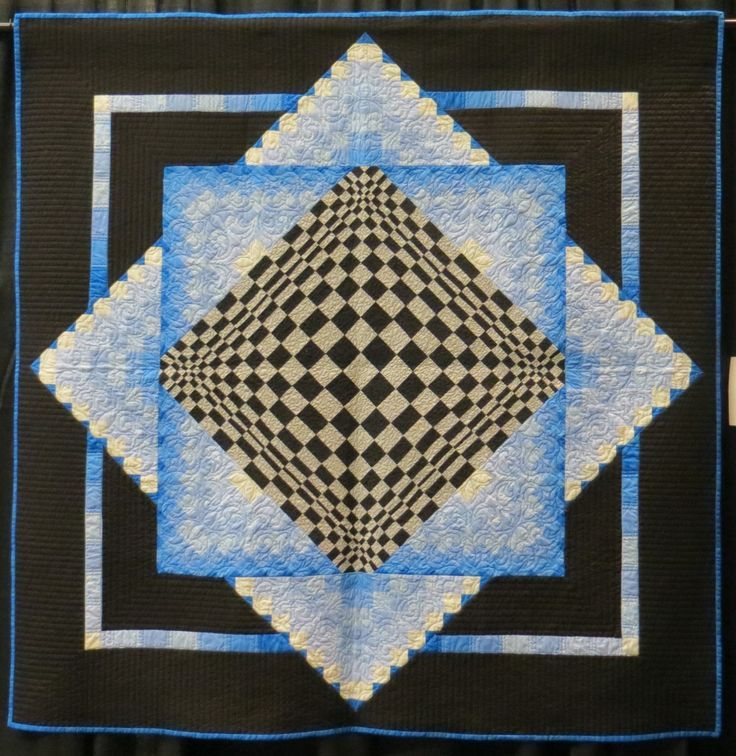 Image result for illusion quilt pattern by dereck lockwood | 3-D ... : lockwood quilts - Adamdwight.com