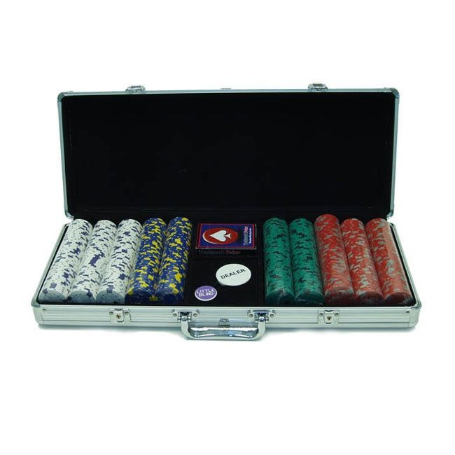 Play like the big boys with this professional poker chip set These card chips are the offical 39mm diameter casino size These game chips make a great gift for the poker enthusiast Crafted of a solid c