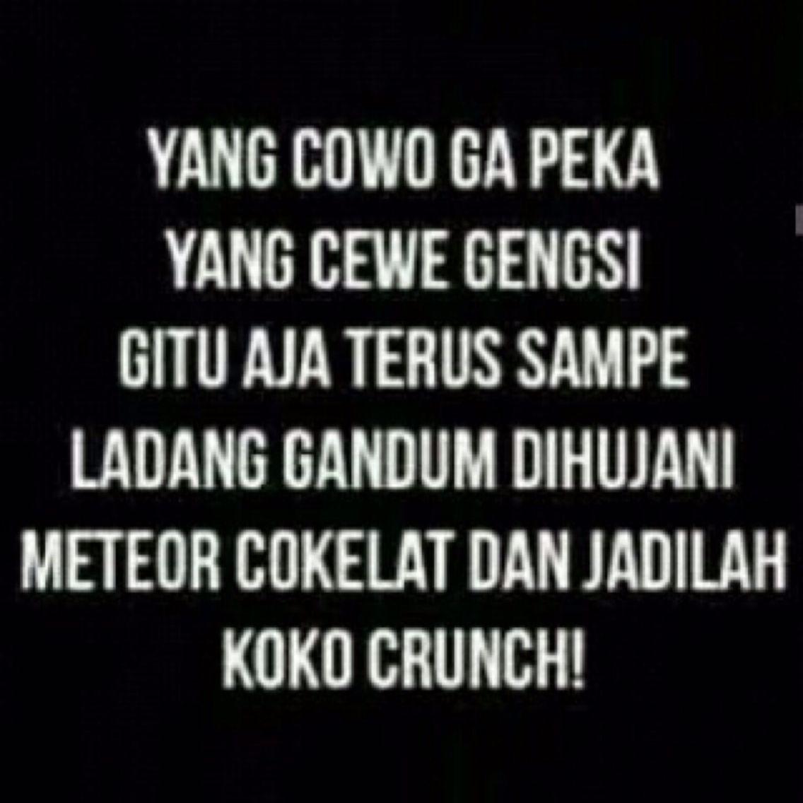 Yg Cowo Gak Peka Yg Cewe Gengsiaan Halaaaaahhh Lucu Humor