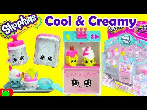 Shopkins Cool And Creamy Playset Season 3 Food Fair