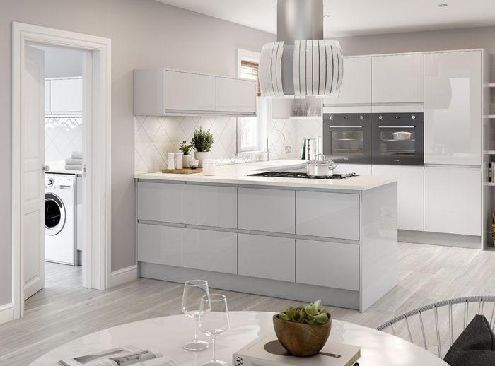 1001 + modèles impressionnants de la cuisine en u   Plan ...