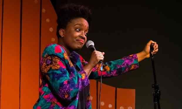 Lolly Adefope at the Edinburgh fringe 2015