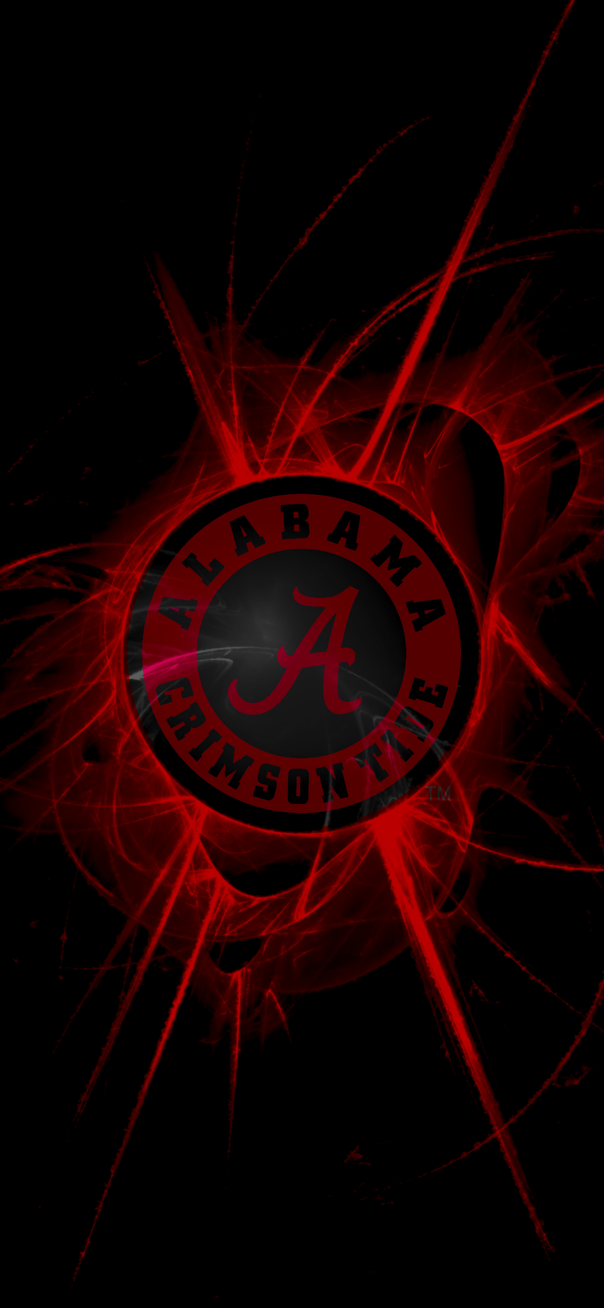 Burst Rd Alabama Wallpaper Alabama Football Roll Tide Alabama Crimson Tide Logo