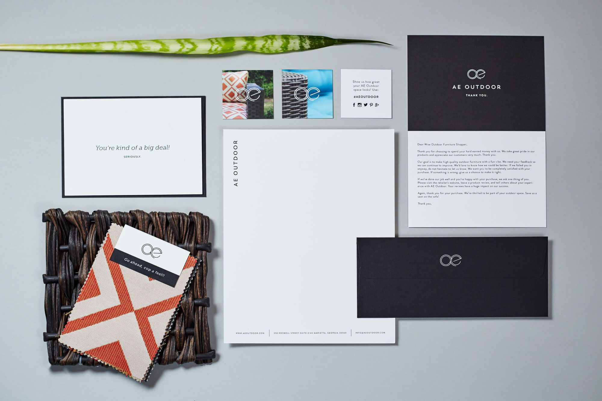 Ae Outdoor Furniture Company Branding Identity Design Brand