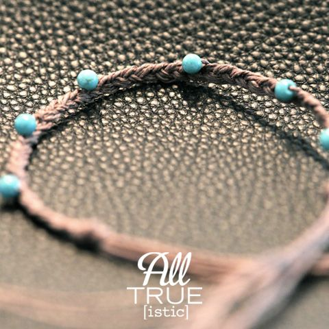Alltrueistic Designed A Bracelet From Materials Found In The We Gave
