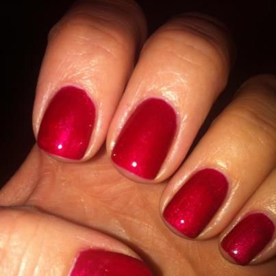 CND Shellac Red Baroness-LOVE IT!! | Halos Nails | Halo ...