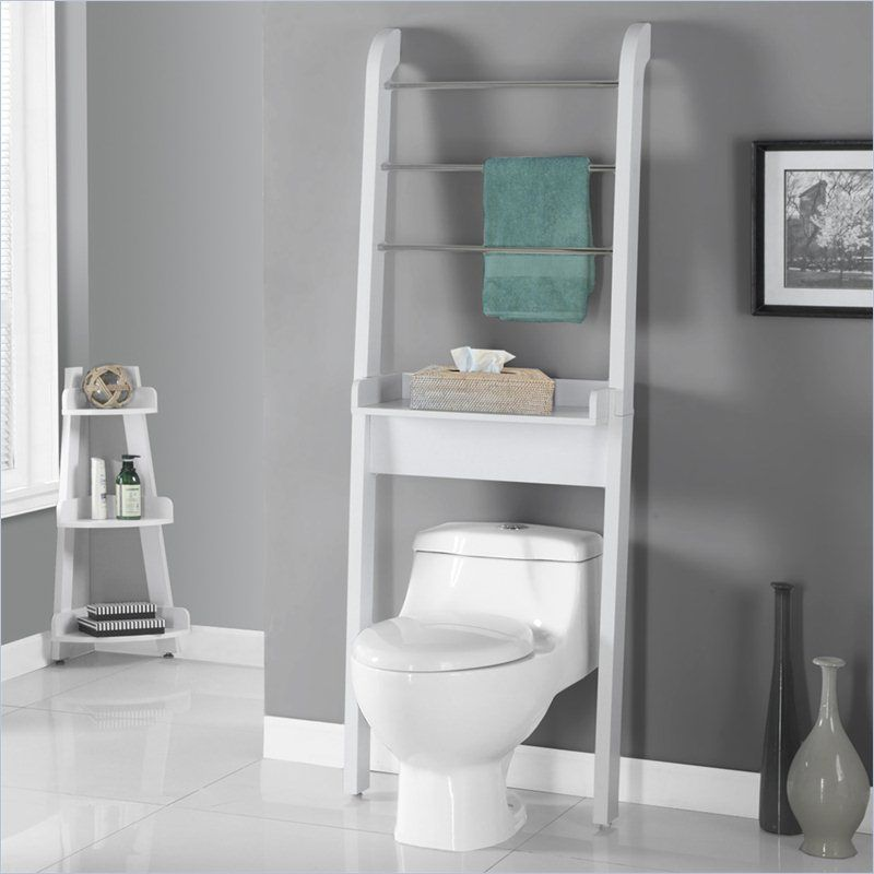 Bathroom Space Saver In White