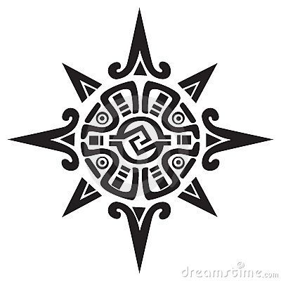 Mayan Or Incan Symbol Of A Sun Or Star Tattoo Pinterest Tattoo