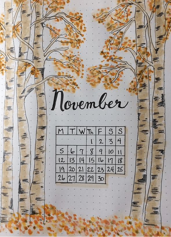 27 Autumny Fall Bullet Journal Themes & Page Ideas To Try