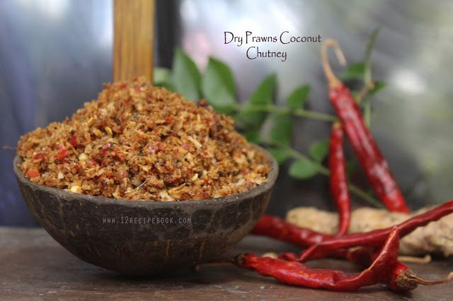Dry prawns coconut chutney recipe book seafood pinterest food dry prawns coconut chutney recipe book forumfinder Images