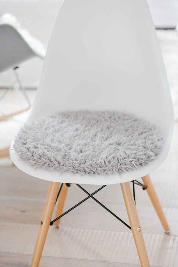 Eames Chair Sitzkissen cushion for eames chair in light grey limited eames chairs