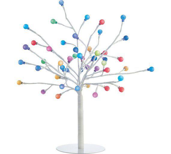 Buy Habitat Daphne Colour Changing 48 Light Led Decorative Tree At Argos Co Uk Visit Argos Co Uk To Shop Novelty Lights Color Changing Led Led Christmas Tree
