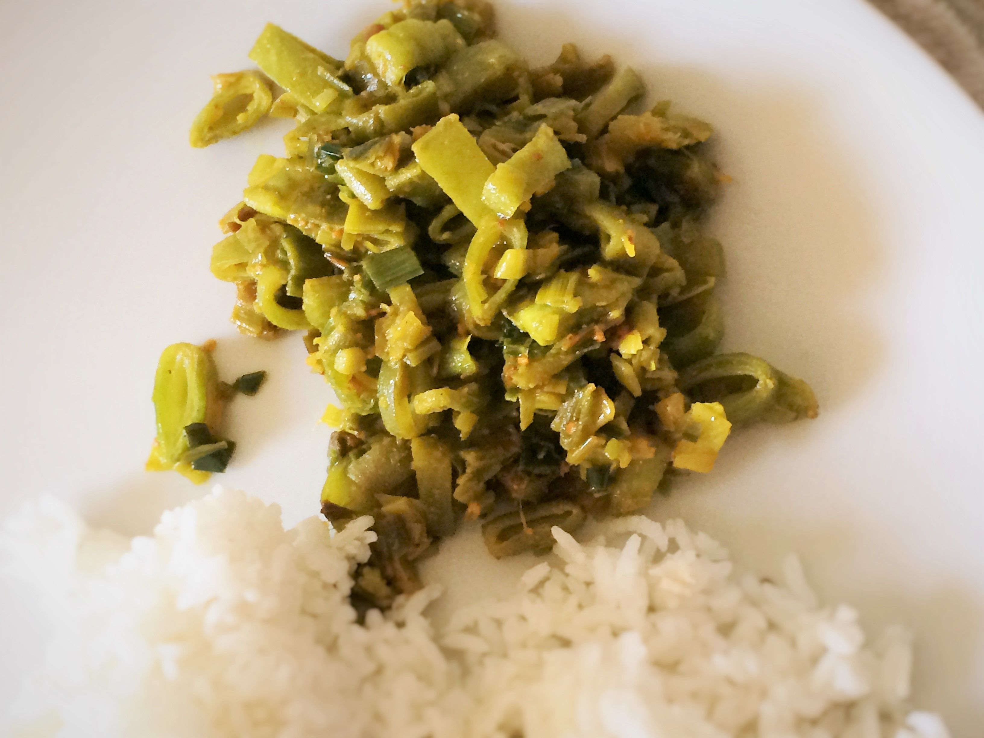 Spicy runner beans with leeks beans and recipes spicy runner beans with leeks runner beansindian recipesspicyindian food recipes forumfinder Choice Image
