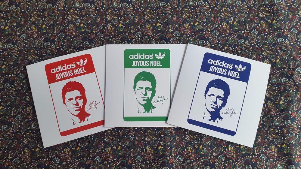 Adidas Originals Stocholm Oasis Poster Gaya Kasual Sepatu