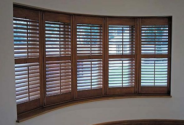 Stunning Wooden Indoor Shutters Gallery - Interior Design Ideas ...