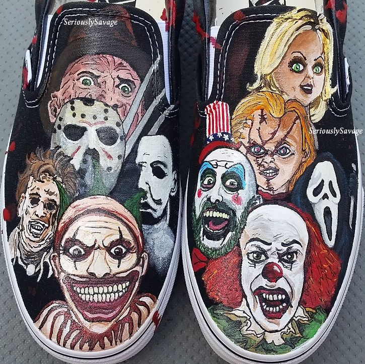 Hand painted shoes image by Melinda Post | Cool vans shoes