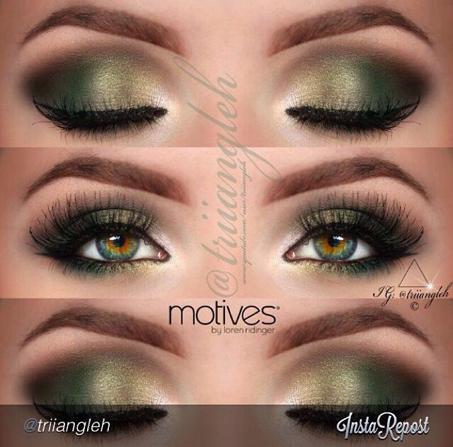 Top 10 Simple Smokey Eye Makeup Tutorials For Green Eyes Make Up