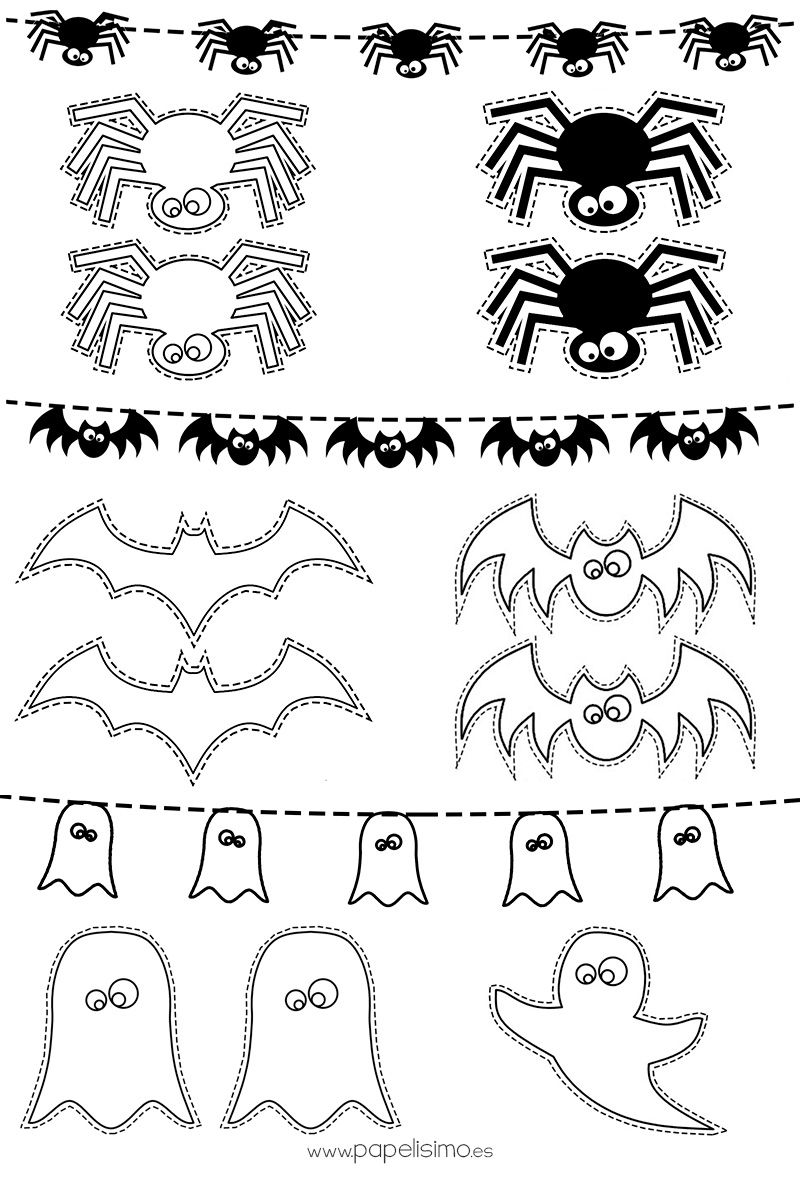 Dibujos-Halloween-colorear-niños | hallowen | Pinterest | Colorear ...