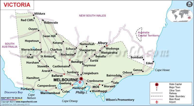 Things To Do In Victoria Australia In Winter Maps Of World