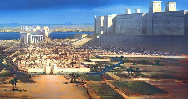 Arqueólogos Rusos Desentierran Las Legendarias Murallas Blancas De La Antigua Capital De Egipto Egipto Historia De Egipto Ciudades