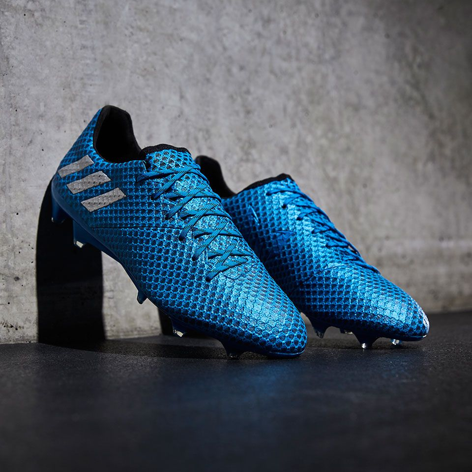 d10409abe83 adidas Messi 16.1 FG AG - Shock Blue Matte Silver Core Black ...