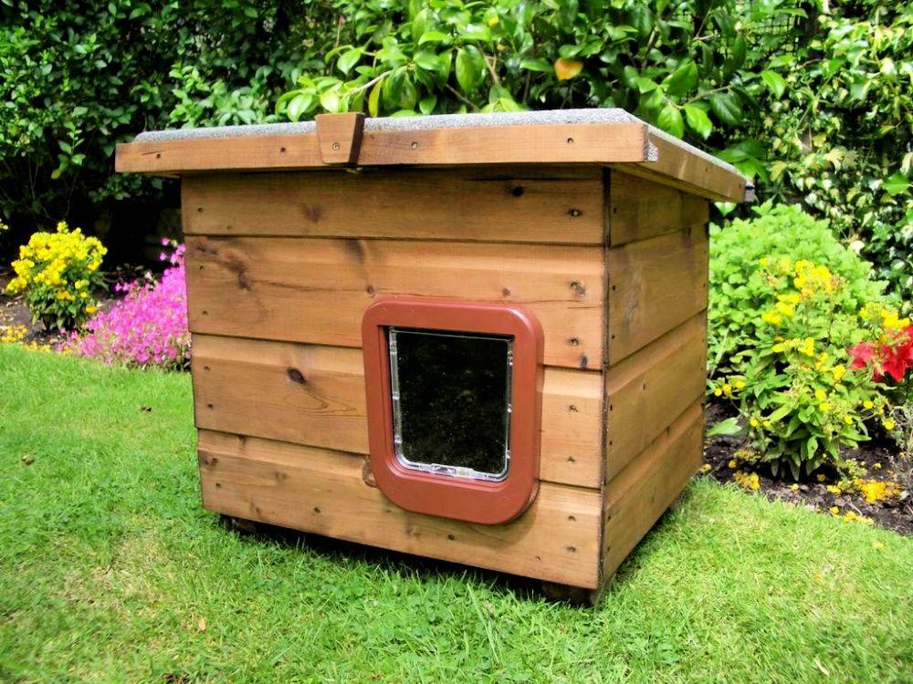 30 Best DIY Outdoor Cat House Plans in 2020 Outdoor cat