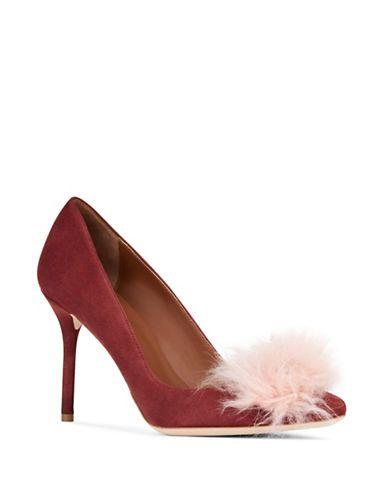 MALONE SOULIERS Malone Souliers Brenda Fluff Puff Stiletto Heels. #malonesouliers #shoes #heels