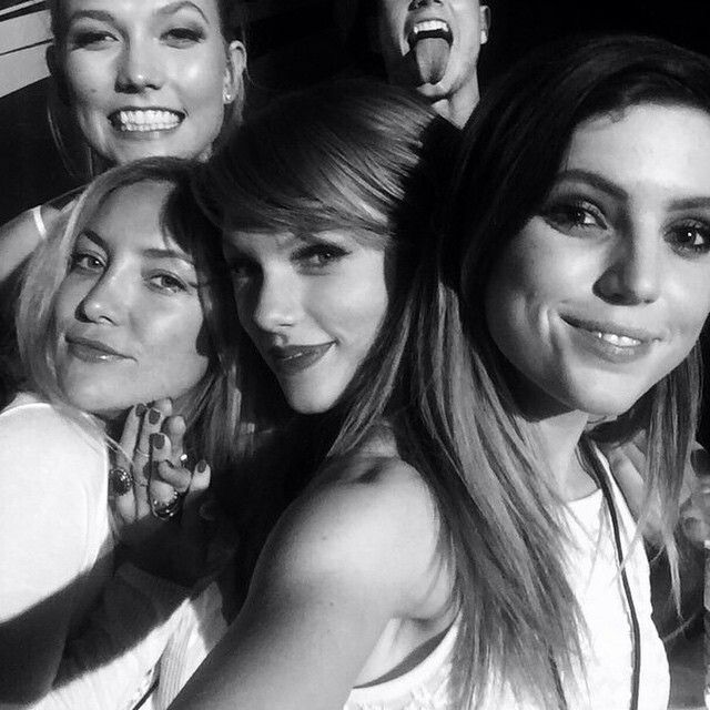 Kate and Taylor and karlie birthday