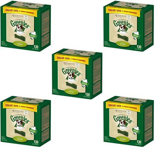 Greenies Dental Chews Value Size Teenie 180oz5 x 36oz Tubs