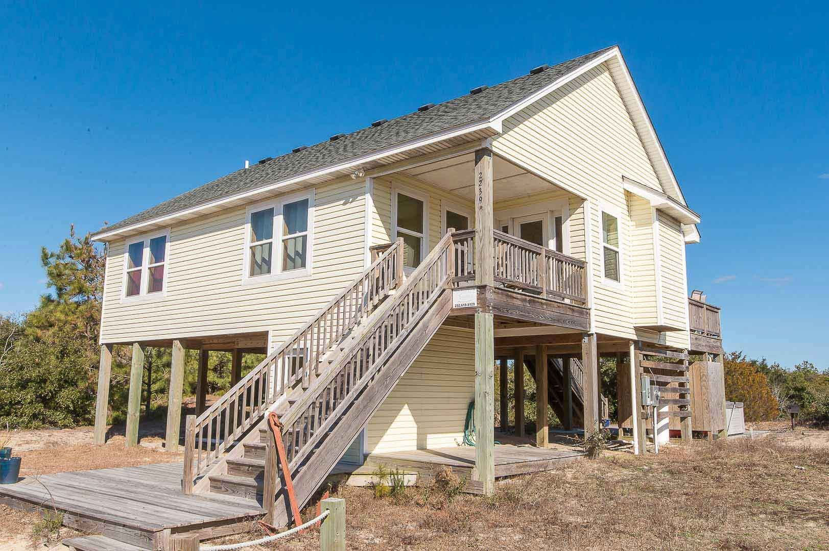 to where outer lodging sky obx vacation new cottage large layers banks amenities rentals cottages stay