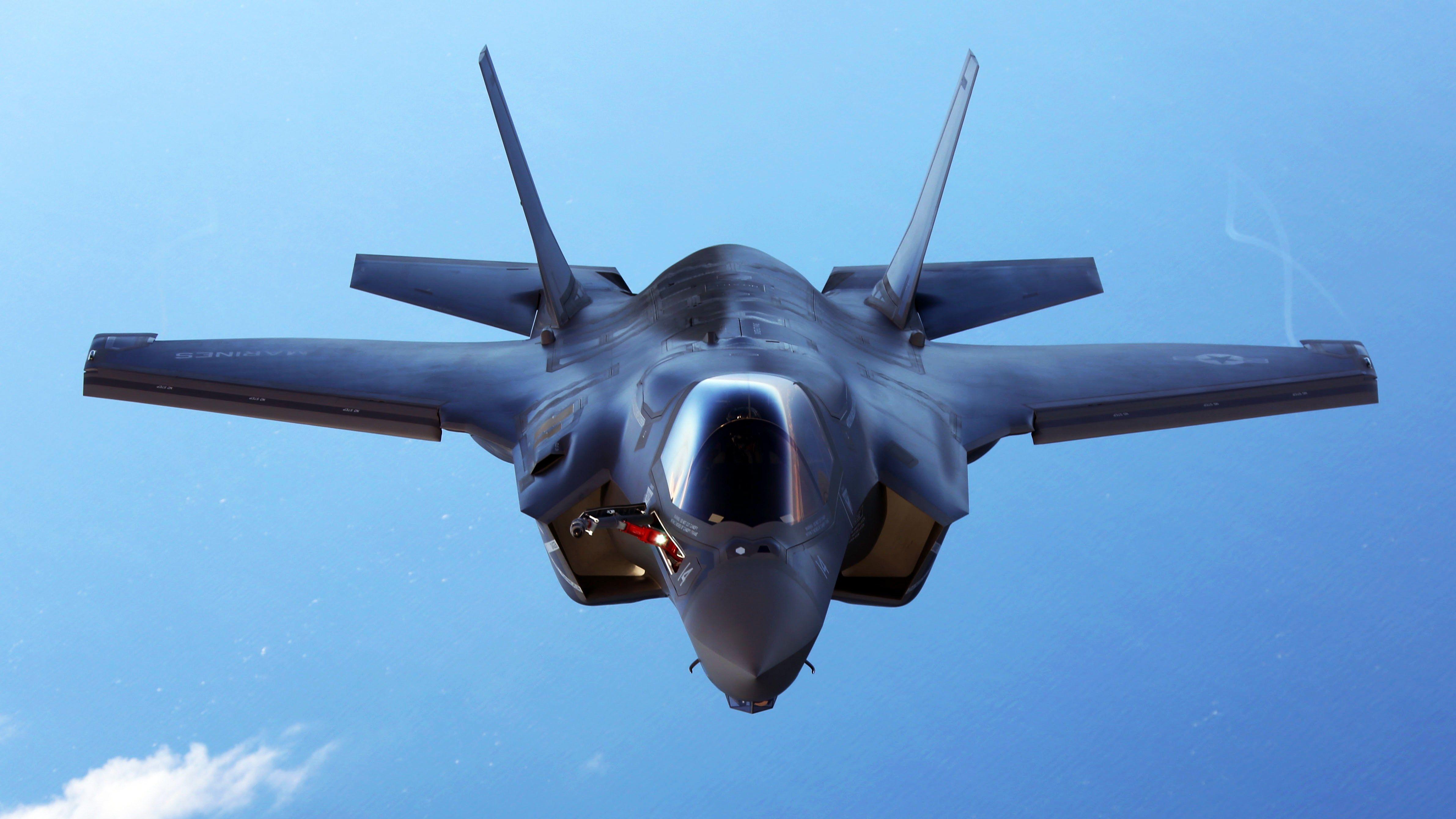 Обои «лайтнинг» ii, F-35, Lockheed, Самолёт. Авиация foto 8