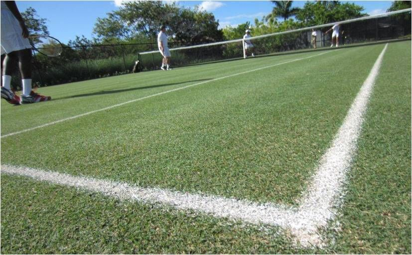 Four Seasons Resort Costa Rica Is The Only Property To Have A Grass Tennis Court Tennis Court Costa Rica Resorts Wimbledon