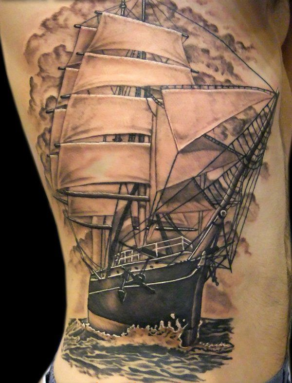 pingl par tattoo egrafla sur tatouage bateau pinterest tatouage tatouage bateau et modele. Black Bedroom Furniture Sets. Home Design Ideas