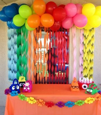 Simple Home Decoration For Birthday Party Monster Birthday
